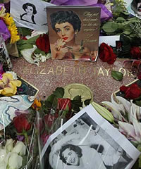 Elizabeth Taylor Funeral Takes Place