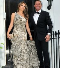 Elizabeth Hurley Gets Engaged With Shane Warne