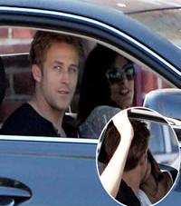 Ryan Gosling and Eva Mendes Share Hot Kiss