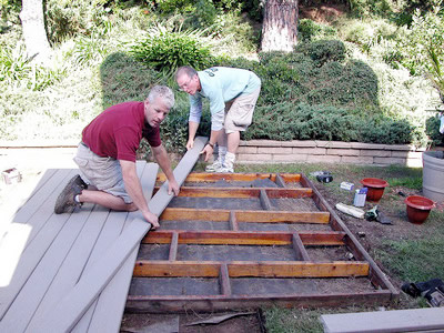 Install Composite Boards