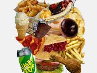 Top Ten Worst Foods For Men