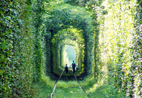 Tunnel of Love in Kleven