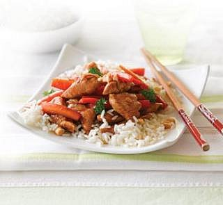 Honey and Soy Chicken with Cashews Recipe