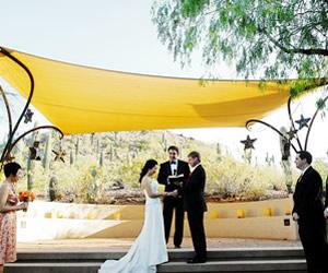 Colorful Desert Wedding