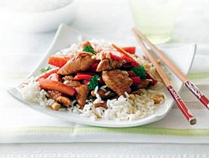 Honey and Soy Chicken with Cashews