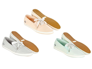 All aboard with Lacoste's new Espadrille Range Spring Summer 2012