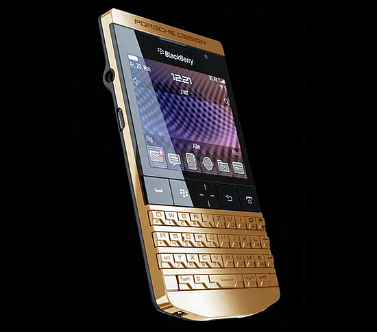 Porsche Design Gold Plated BlackBerry