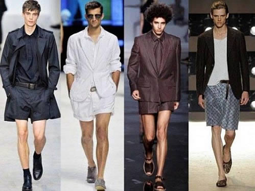 Bermuda Shorts for Summer
