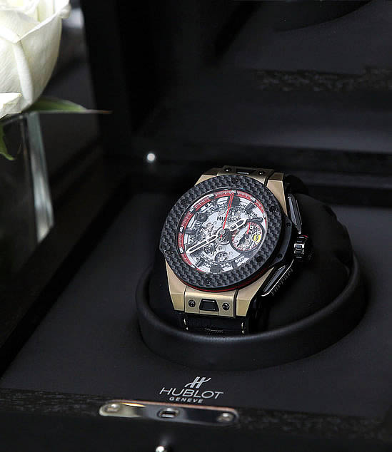 Hublot Big Bang Chorno Tourbillion Ferrari