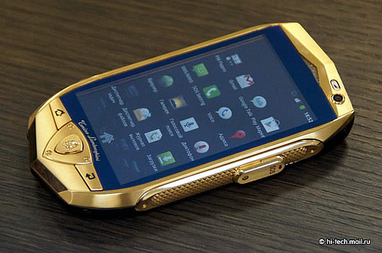 Lamborghini Gold Plated Cell Phones Pictures