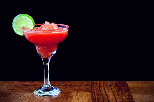 Strawberry Lime Margaritas Drinks