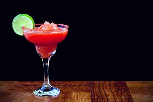 Strawberry Lime Margaritas Drinks