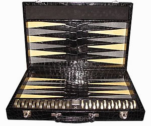 Geoffrey Parkers Backgammon Set