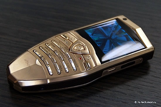 Lamborghini Gold Plated Cell Phones