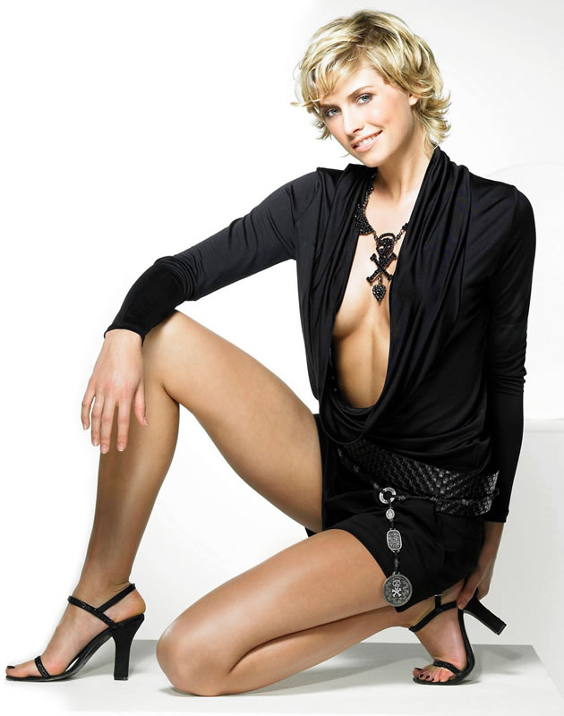 Lena Gercke recently celebrated 50 Years of Mini Skirt with EBay and ...