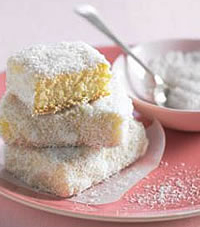Lemon-lime Lamington Squares