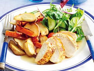 Speedy Roast Chicken and Vegetables