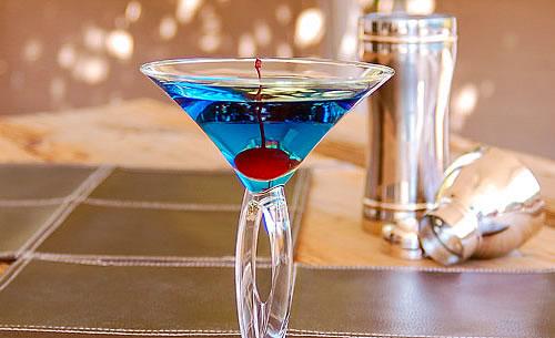 Blue Arrow Cocktail Recipe