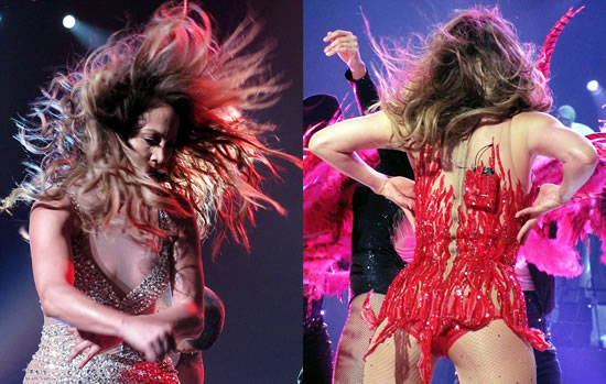 Jennifer Lopez at London Arena show