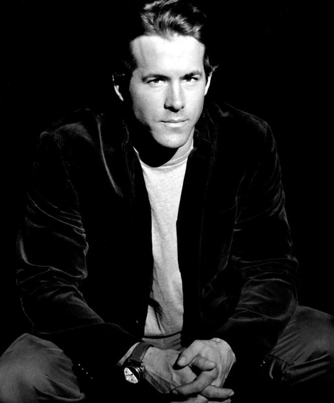 Ryan Reynolds Black And White