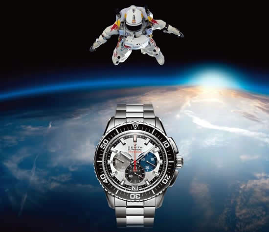 Zenith El Primero Stratos Flyback Striking 10th Chronograph Pictures