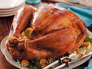 Citrus-Rosemary Rubbed Turkey Recipe