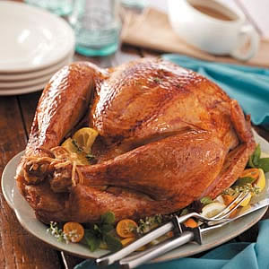 Citrus Rosemary Rubbed Turkey Recipe for Thanksgiving Day
