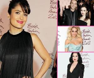 Hollywood Hotties Celebrate Style at 2012 British Fashion
