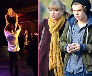 Taylor Swift And Harry Styles Recreate Dirty Dancing Lift