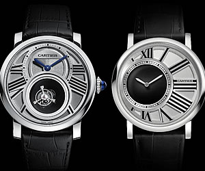 Cartier unveils Rotonde de Cartier Mysterious Double Tourbillon and Rotonde de Cartier Mysterious Hours