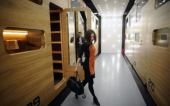 First Capsule Hotel in Moscow