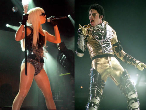 Lady Gaga and Michael Jackson