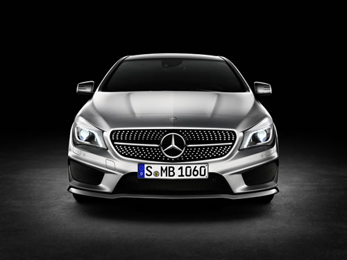 Mercedes-Benz CLA-Class Pictures