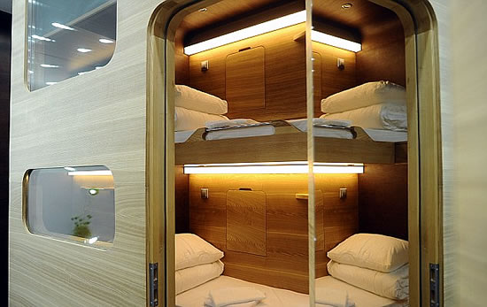 Moscow Capsule Hotel