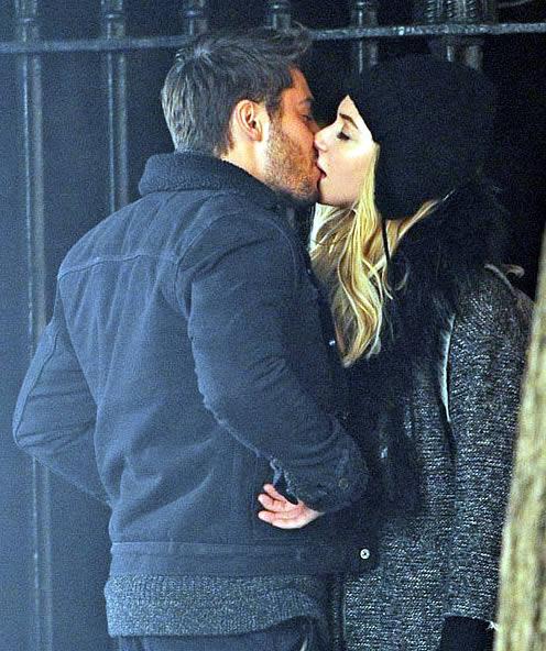 Zac Efron and Imogen Kiss in Movie Scene