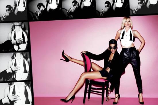 Rihanna and Kate Naked