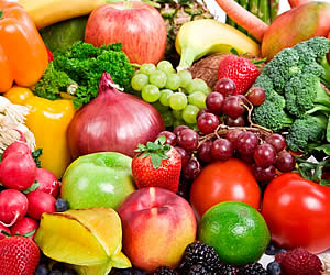 Green Benefits of Fruits and Veggies