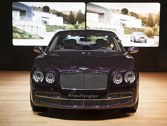 Bentley Flying Spur New York International Auto Show