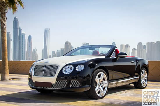 Diamond Bentley Continental Car