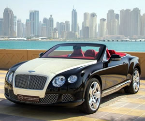 Diamond coated Bentley Continental GTC by Luxury Finish