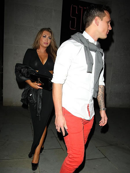 Lauren Goodger with Boyfriend