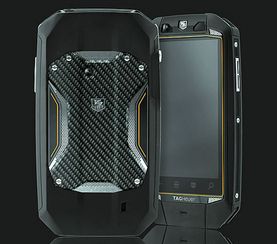 Tag Heuer Racing Carbon Orange Smartphone