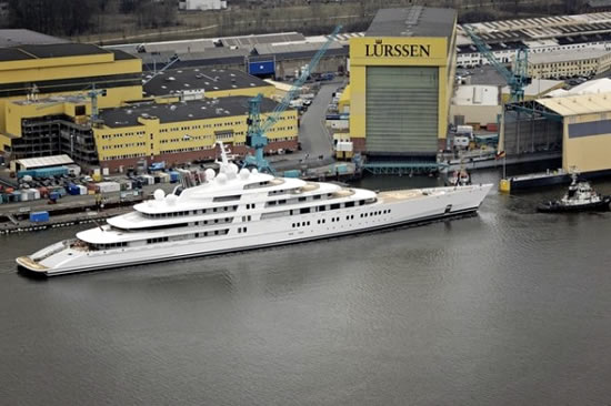 Azzam Worlds Largest Yacht Images