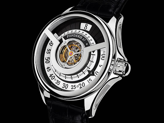 Inversion Principle by Fonderie 47 Elegant Watches