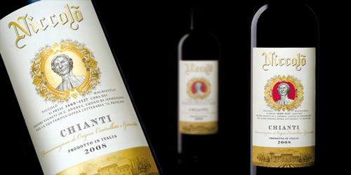 Italian Chianti Wine