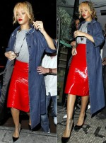Rihanna WAG Night out in Manchester