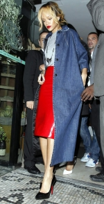 Rihanna WAG Night out in Manchester 5