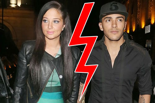 Tulisa Kicked Danny Simpson Into Touch After Shoe Row