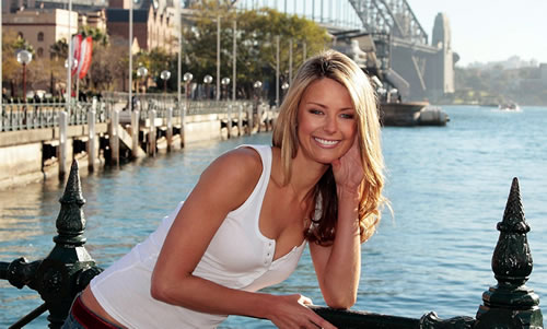 Jennifer Hawkins Beauty Queen