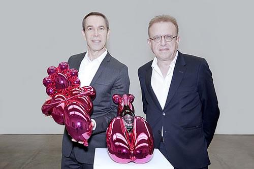 Jeff Koons Rose Champagne
